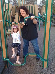 Aunt Skip at Pen Park
