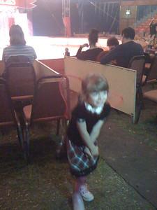 Sam's pre-circus show