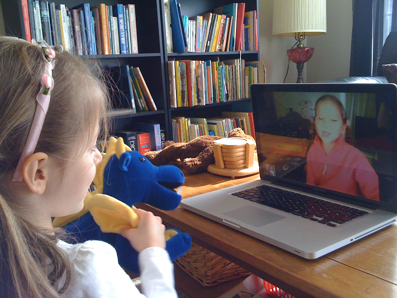 Skype with Cerys
