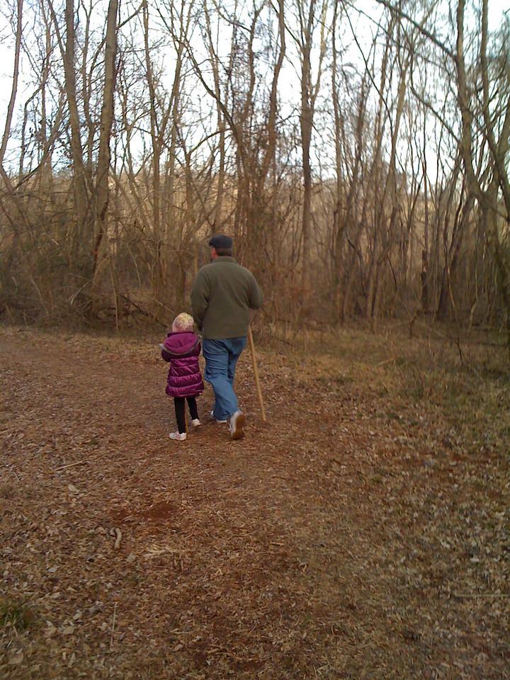 Exploring near Moore's Creek