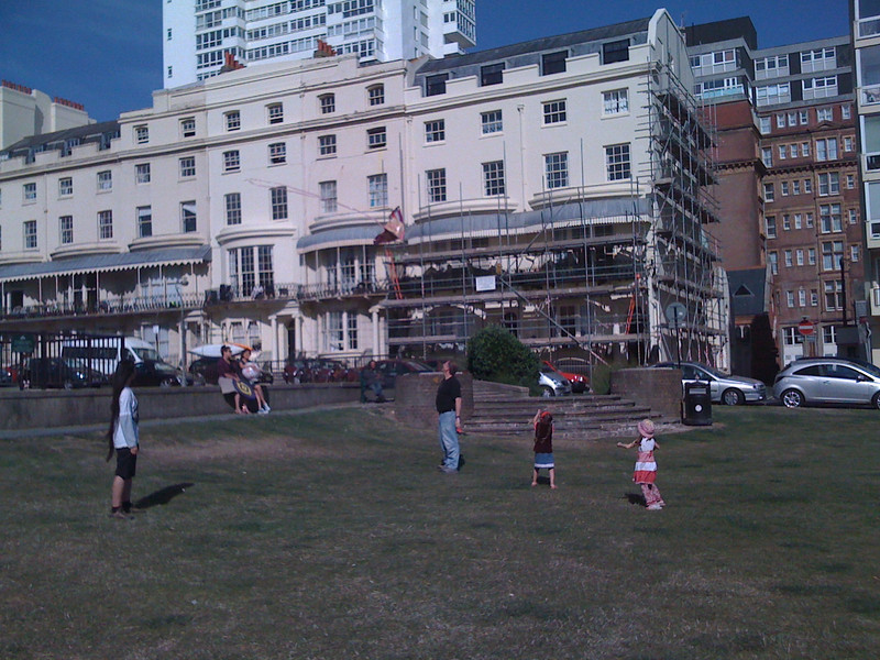 Playing in Regency Square