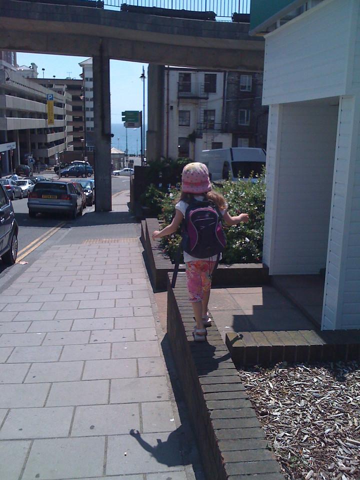Ledge walk