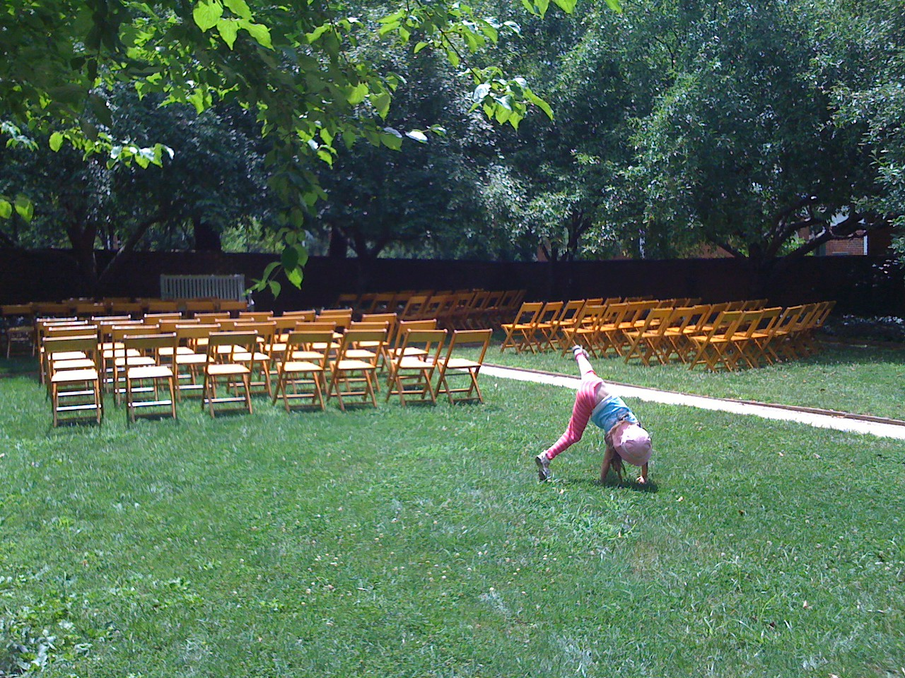 Cartwheel where Mom and Dad got married