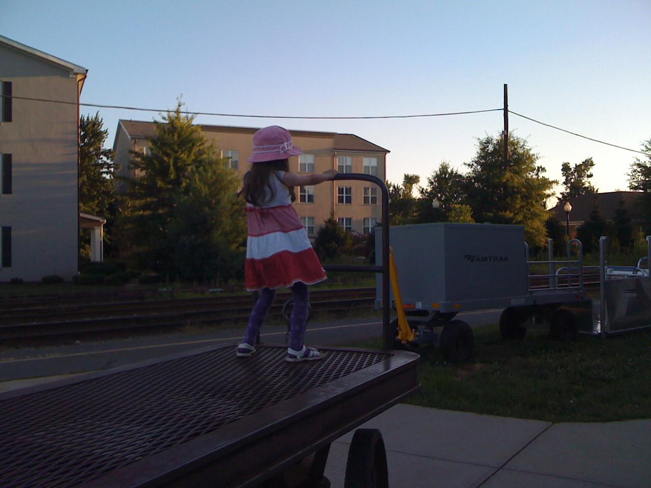 Preparing to Drive the Train