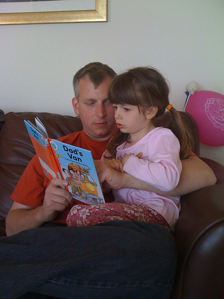 Reading TO Dad