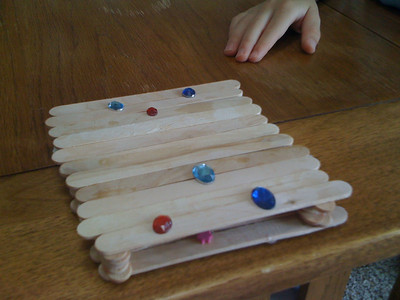 Fun with popsicle sticks