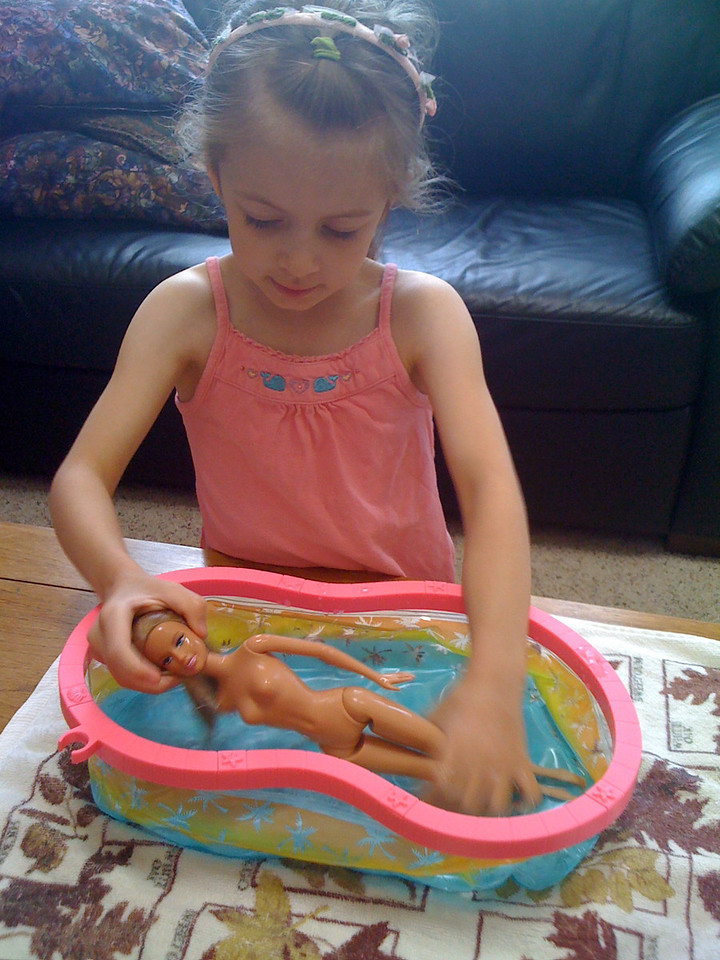 Preparing the Dorbie Pharoah for Mummification