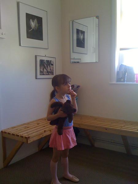 Ballet waiting room
