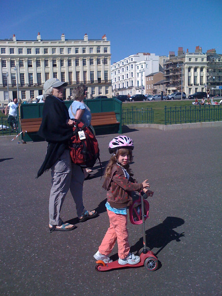 Hove beach walk