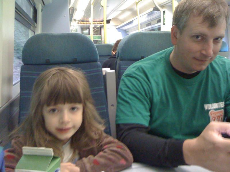 Train to Salisbury