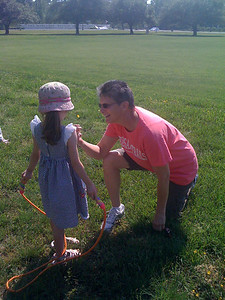 Buttercups with Aunt Scottie