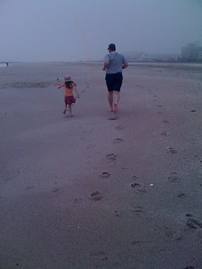 Jogging the Beach
