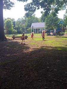 Sam, Lydia and Charlotte at Greenleaf