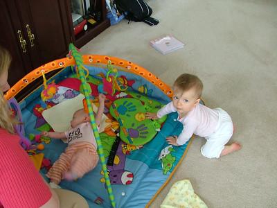 Visiting Baby Katrina