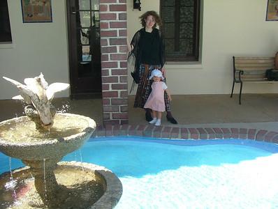 Fountain pose