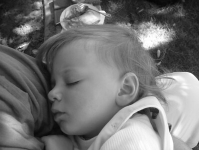 Sleeping in Black and White