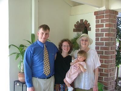 Dad, Mom, Sam, & Grand-m