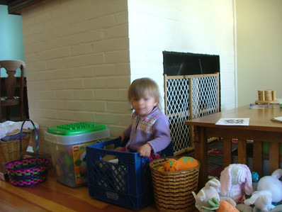 Milk crates are for sitting in now
