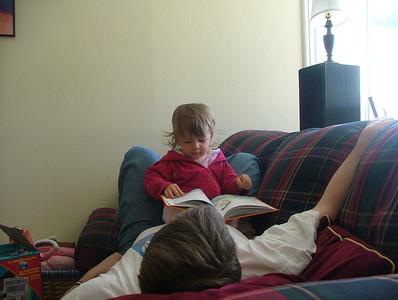 Sam She Is reads Sam I Am
