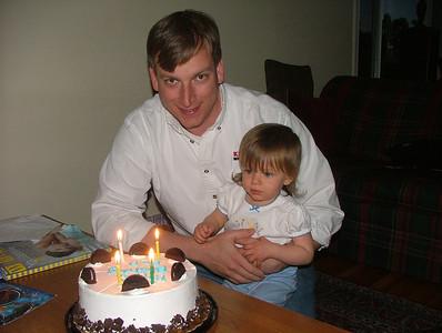 Happy 37th birthday, Daddy