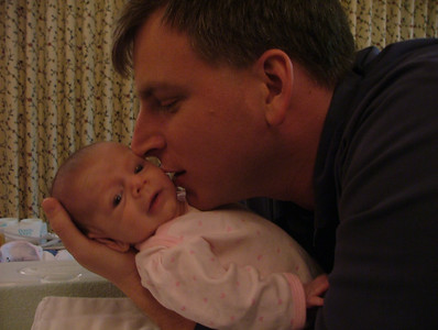 Daddy tells Sam a secret