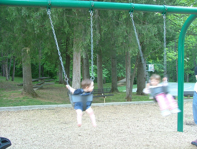 Baby swings in Cville