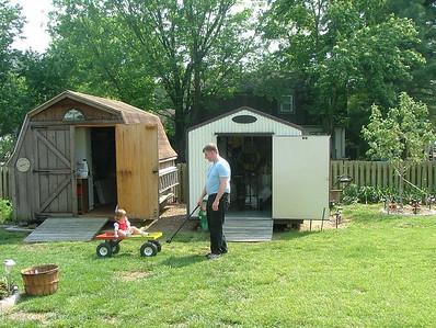 Backyard at Scottie & Janet's