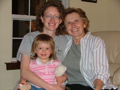 Three Generations, June 2007