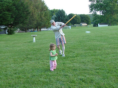 Granddaddy hits one out of the ball park