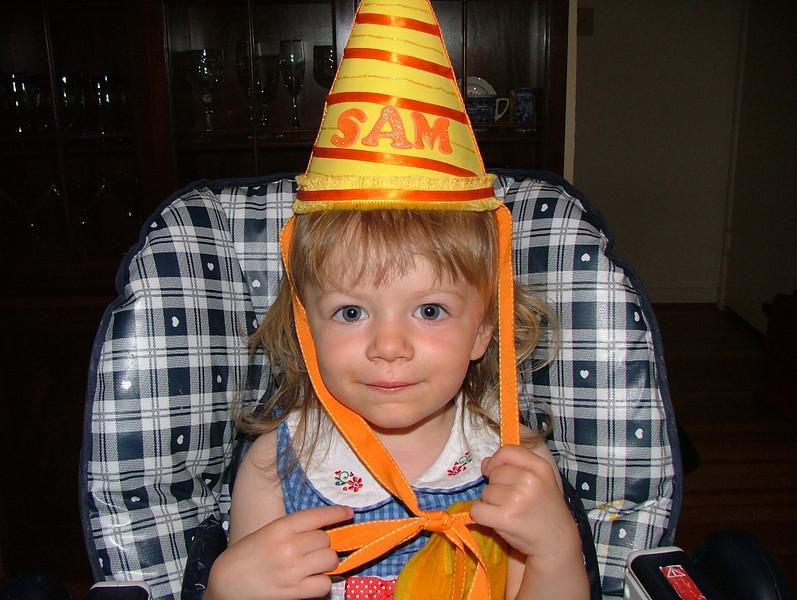 Birthday Hat by Bellybutton Industries (aka Meri & her parents!)