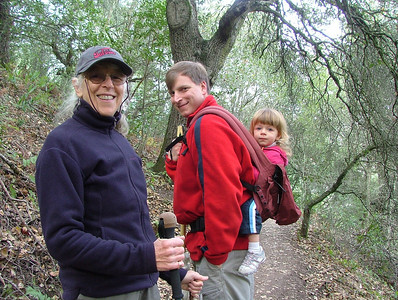 Hiking the Huckleberry Botanic Preserve in Oakland