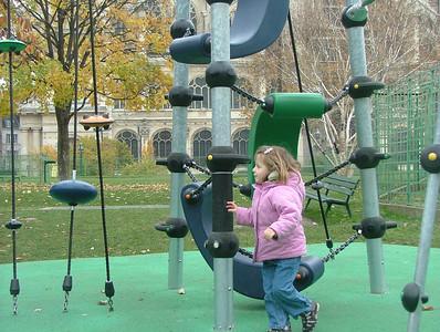 Playground at Le Forum des Halles