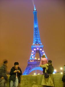 La Tour Eiffel et ses etoiles