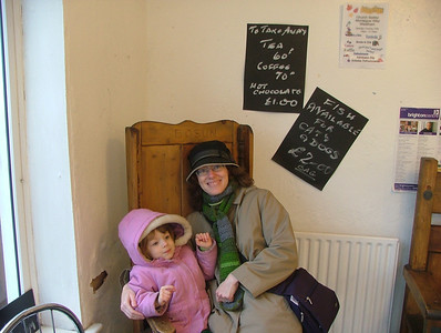 A Chair in a Chipper in Pevensey