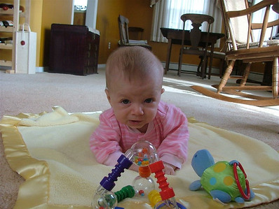 Tummy Time not so bad any more