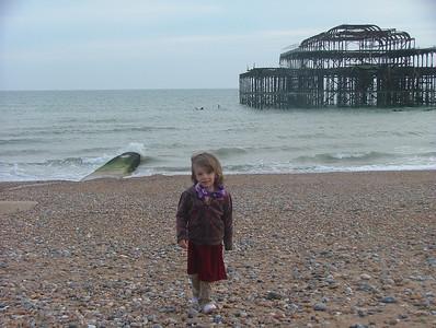 Sam, Beach, West Pier
