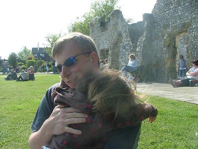Cuddles at Arundel