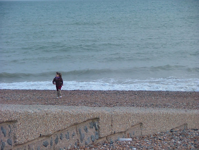 Frolicking on Brighton Beach