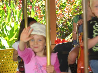 Carousel at Fairyland, Oakland