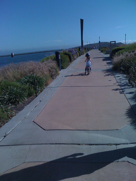 Richmond Marina ride