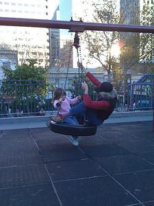 Swinging in Chinatown