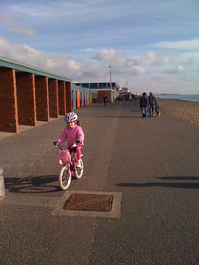 Ride to Hove Lagoon