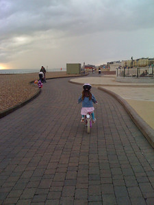 Down the seafront