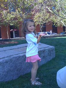 Dancing at Levi Park
