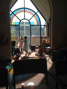 Fairies in the Hove Methodist Church