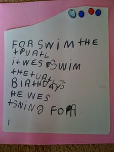 Swim the turtle