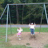 Swinging with Mom-Mom