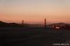 Golden Gate Bridge at sunset: Sept 2011