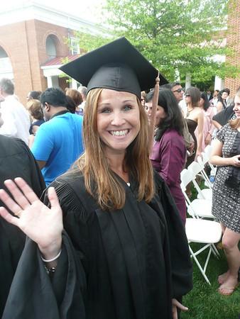 Sarah Graduates from Darden 2011