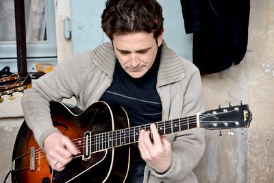 """Guitarist of """"Borsalino"""""""